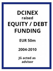 Tombstone-EVS-DCinex-EquityFunding-2004